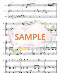 FVC016 となりのトトロ/久石譲:管弦楽三重奏(フルート、バイオリン、チェロ)