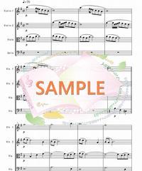 SQ002 アヴェ・マリア/カッチーニ:弦楽四重奏(String quartet)