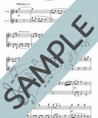 SP-FV012-01 ふるさと/岡野 貞一:フルート&バイオリン