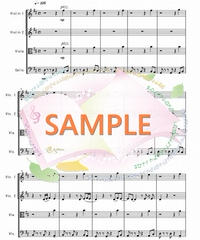 SQ010 スタンド・バイ・ミー(Stand by Me):弦楽四重奏(String quartet)