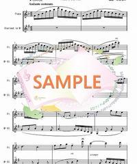 PG001 私のお父様「ジャンニ・キッキ」より(無料楽譜):フルート&クラリネット