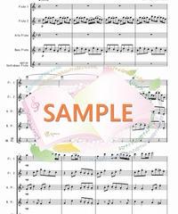 FQG015 春よ、来い/松任谷由実:フルート四重奏(2Flutes,Alto-Flute,Bass-Flute/op.+Contrabass-flute)
