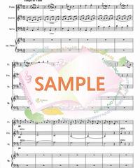 FVC006 美しく青きドナウ/J.シュトラウス:管弦楽三重奏(フルート、バイオリン、チェロ+op ハープ))