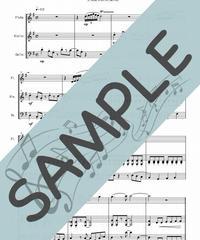 SJ-FVC016-01 となりのトトロ/久石譲:フルート、バイオリン、チェロの三重奏
