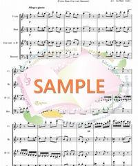 WER002 くるみ割り人形より「小序曲」「行進曲」「花のワルツ」/チャイコフスキー:木管四重奏