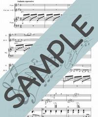 SP-P2W001-01 月の光~ジャズアレンジ /ドビュッシー:ピアノ&フルート&クラリネット