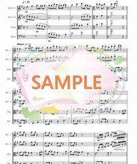SQ006 残酷な天使のテーゼ/ 佐藤英敏:弦楽四重奏(String quartet)