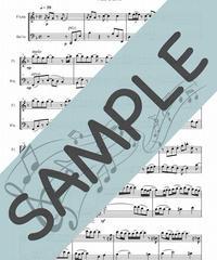 SJ-FC013-01 ひまわりの約束/秦 基博:フルート&チェロ(Flute&Cello)
