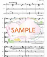 FVC003 ジムノペディ/サティ:管弦楽三重奏(フルート、バイオリン、チェロ)