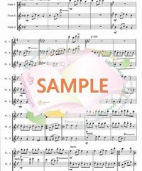 FT019 四季の彩り~日本の歌メドレー:フルート三重奏(3Flutes)
