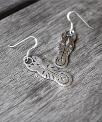 Earrings - Zebra【1点物】