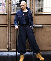 Uma-Bakama denim pants / 馬袴風デニムパンツ / 20006