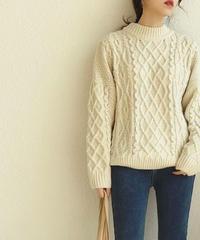 Vintage like Aran Knit 送料無料