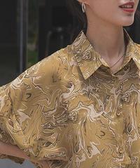 Half sleeb Nuance Marble Shirts  90195 送料無料