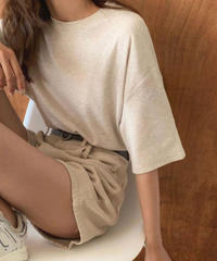 3color:Natural T-shirts 90198   送料無料
