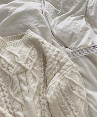 ■再販■Over Loose Aran Knit 90073 送料無料