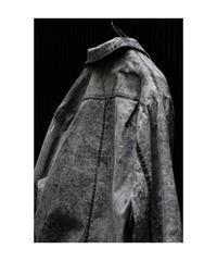 """WILDFRÄULEIN71 2020-21 f/w """"墨流し cotton craftman shirt"""""""