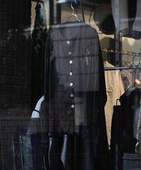 "WILDFRÄULEIN ""linen longersleeve cardigan jacket"""