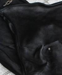 """WILDFRÄULEIN """"leather clutch bag"""" black ver."""