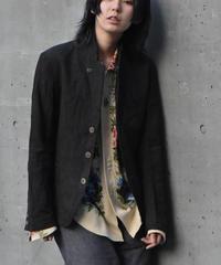 """WILDFRÄULEIN """"Black chambray linen jacket"""""""