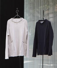 """WILDFRÄULEIN71 2021s/s """"Relaxing architecture sweat top"""" off white/charcoal grey"""