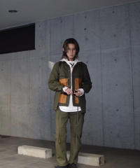 "WILDFRÄULEIN ""vintage military fabric filled jacket"""