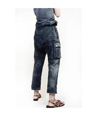 """Jobi fret roop """"resin materials sarouel trouser"""""""