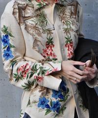 "Hanke's ""Flower printed rayon shirt"" 1点物"
