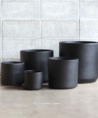Waistless pot Black φ22cm x H22cm