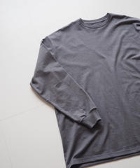 "Graphpaper ""L/S OVERSIZE Tee"" C.Gray"