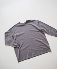 """Graphpaper """"L/S Oversized Tee"""" Gray"""