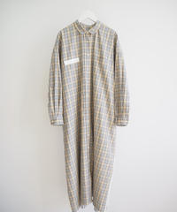 "F/CE.® ""Check Long Shirt"" beige"