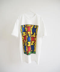 "Diamond Supply Co. ""KEITH HARING FINGER CROSSED"" white"
