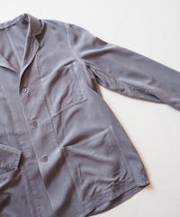 "Graphpaper ""Soft Cupro Jacket"" Gray unisex"