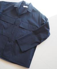 """Graphpaper """"Stevensons Military Shirt"""" Navy unisex"""
