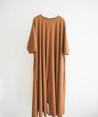 "Graphpaper ""Rib Flare Jumpsuit"" brown"