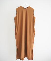 "Graphpaper ""Rib Sleeveless Dress"" brown"
