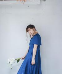 "RUIMEME""summer dress""【royal blue】"