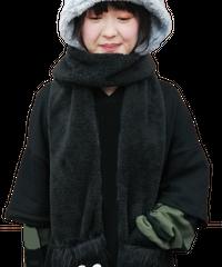 黒渕さんフードマフラー 51856017