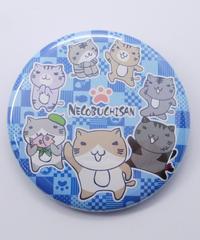 ねこぶち缶バッチ(大)仲間 51853003