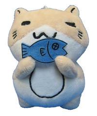 ねこぶち魚ぶらぶらぬいぐるみ《新価格》 51857008