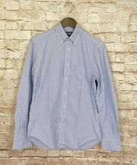 【USED】GITMAN  BROS  ギットマン ブラザーズ  シアサッカー  ボタンダウンシャツ