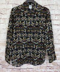 【USED】S2W8  サウスツーウエストエイト  フラワープリントシャツ
