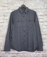 【USED】RRL ダブルアールエル ブラックシャンブレー ワークシャツ