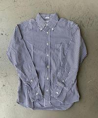【USED】INDIVIDUALIZED SHIRTS  インディビジュアライズドシャツ  ギンガムチェック ボタンダウンシャツ スタンダードフィット