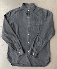 【USED】RRL  ダブルアールエル  ポルカドット ワークシャツ