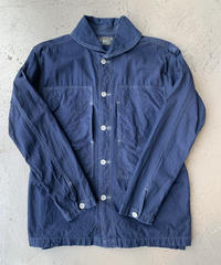 【USED】RRL  ダブルアールエル  インディゴ  ショールカラー シャツジャケット