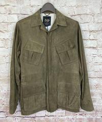 【USED】50  CINQUANTA  チンクアンタ  ゴートスエード  M-65型 レザージャケット