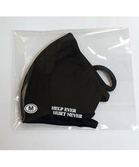 マスクMサイズ(HELP EVER HURT NEVER)ブラック