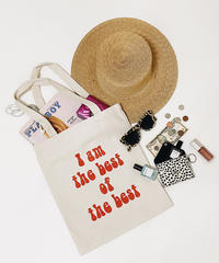 「Iam the best」Totebag